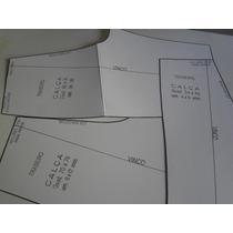Modelagem Para Costura P/ Calça E Bermuda C/ Dvd