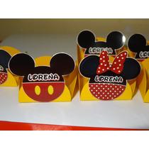 50 Forminhas De Docinhos Mickey E Minie