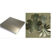 Chapa Aluminio Molde Para Flores 20cm X 30cm