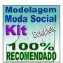 Modelagem Completa Roupa Social Calça Camisa Blazer Moldes