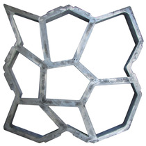 Forma Piso De Concreto Jardim Lajota Paver Aluminio 47x47x6