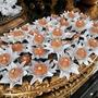 50 Forminhas De Flor Luxo Para Doces Finos
