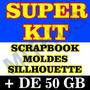 Kit Caixas 350 Arquivo Silhouette +22 Mil Arquivos Scrapbook
