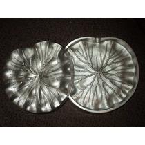 Frisador De Flor Em Alumínio - Folha Da Vitória Régia