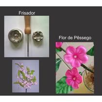 Frisador Para Flor De E.v.a. - Flor De Pêssego
