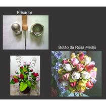 Frisador Para Flor De E.v.a. - Botão Da Rosa Média