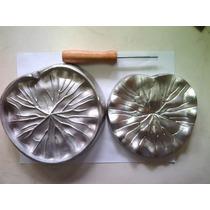 Frisador Em Alumínio Fundido - Folha Da Vitoria Regia