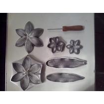 Frisador Em Alumínio Fundido - Kit Para Flores Artificiais