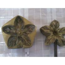 Formas Frisadoras Para Flores E Folhas Em E.v.a. 6 Unidades