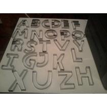Jogo De Cortador Alfabeto Com 27 Letras Em Inox