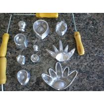 Kit Frisadores Eva Para Fazer Rosas 5 Peças