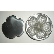 Frisador Em Aluminio Frisador Flor Cajado