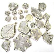 Kit De Frisadores Para Flores Eva Com 18 Peças Em Aluminio
