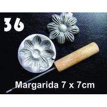 Frisador Modelagem De Flores Tecidos E Eva Margarida 36