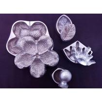 Frisadores Em Aluminio. Kit Rosa Media