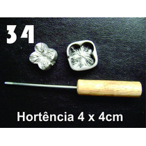 Frisador De Flores Eva Hortência 4 X 4 Cm Frete Grátis