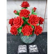 Kit Frisadores Para Flores Em Eva Frisadores Em Aluminio