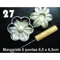 Frisador Modelagem De Flores Tecidos E Eva Margarida 27