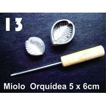 Frisador Modelagem De Flores Tecidos E Eva Miolo Orquidea 13