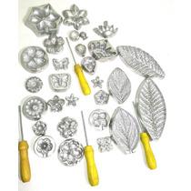 Kit Completo De Frisadores Para Flores Em Eva + Apostila