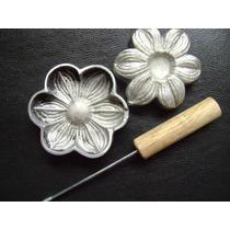 Frisador De Flores Eva Margarida 6 Pontas 9,5 X 9,5 Cm