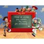 20 Moldes De Silicone P/decorar Cupcake Toy Story P/ Enc