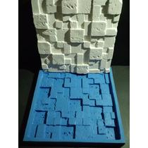 Molde Silicone Mosaico Gesso Travertino 30x30 Cm