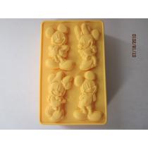 Molde De Silicone/mickey E Minnie,mini Bolos,cake,chocolate,