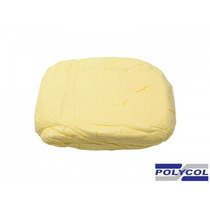 Massa Para Biscuit Polycol 1kg - Amarelo Claro