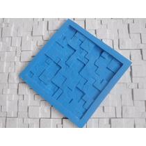 Molde Silicone Mosaico Gesso 3d -pedra S.tomé -frete Grátis*