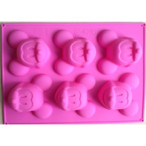Forma Silicone Mickey Mouse Disney Chocolate Doce Gelo Artes