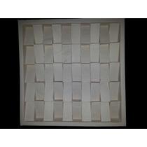 Forma De Silicone Para Placa De Gesso Pirâmide Linear