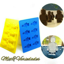 Molde Forma De Silicone Lego Chocolate Gelo Giz Sabonete
