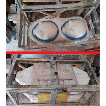 Maquina E Molde P Fabricação Gesso Cofrinhos Porquinho Porco