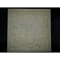 Forma De Silicone Para Placa De Gesso Mosaico Pequeno