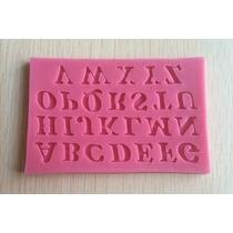 Molde De Letras De Silicone Para Artesanatos