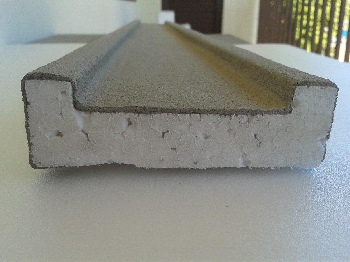 #828942 Moldura Externa De Isopor (eps) Para Fachada E Janelas R$ 12 30 no  878 Moldura Para Janela De Aluminio
