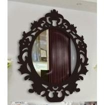 Moldura Provençal Mdf Espelho, Decoração Festa Média 60x50cm