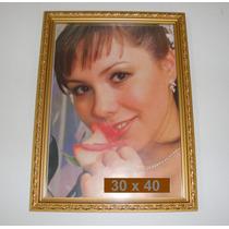 Quadro C/ Vidro Para Fotos Diplomas Ou Trabalho 30x40 Cm
