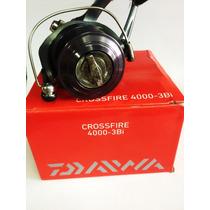 Molinete Daiwa Crossfire 4000-3bi Lançamento - Fretegrátis!