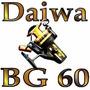 Molinete Daiwa Bg 60 Original + Isca Artificial De Brinde!