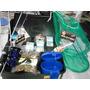 Kit Pesca Vara Maciça Duas Parte + Molinete E Acessórios.