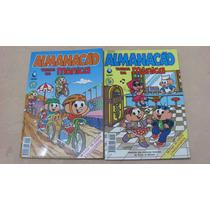 Almanacão Turma Da Monica N 3 E 4 Impecaveis