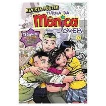 Revista-poster Turma Da Mônica Jovem N. 01 - 12 Posteres Nov