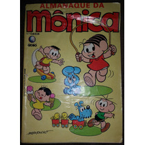 Gibi Almanaque Da Mônica Nº 1 - Editora Globo 1987