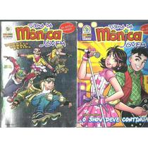 Turma Da Mônica Jovem Lote Com 2 Revistas Nºs 25 E 36