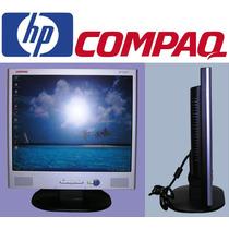 Hp Compaq Monitor Lcd 17´´ + Audio Estereo Integrado = R$189