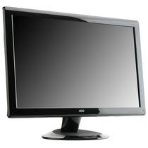 Monitor Pos Aoc 19 Lcd Wide Multimidia Som Garantia 1 Ano