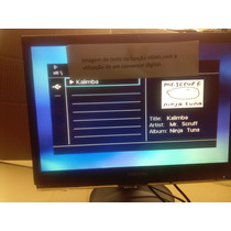 Monitor Lcd 22 Pol.samsung Syncmaster 2263uw Com Hdmi E Dvi