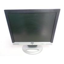 Monitor Aoc Tela Lcd 15 Polegadas Modelo Lm522